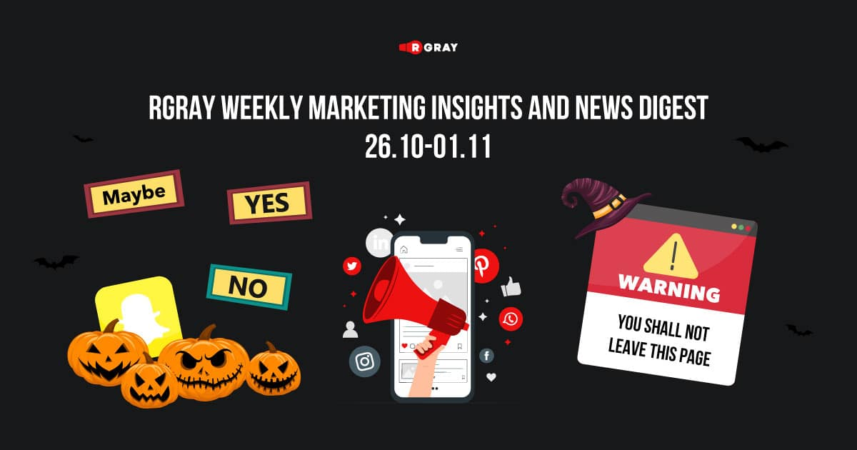 rgray weekly marketing insight and news digest 2610-0111