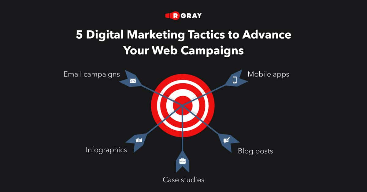 5 Digital Marketing Tactics to Advance Your Web Campaigns