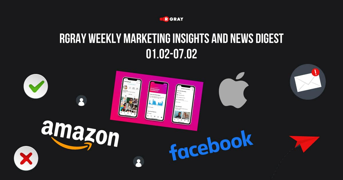 Google SEO Updates. Apple vs Facebook. 10 Ways To Boost Your Email Campaigns. Instagram Updates. Amazon Rules