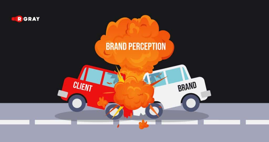Brand perception as a collision of a customer and your brand