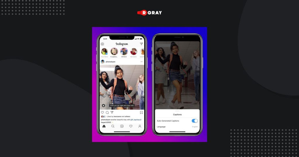 By a gigantic demand, captions are offered to IGTV videos on Instagram.