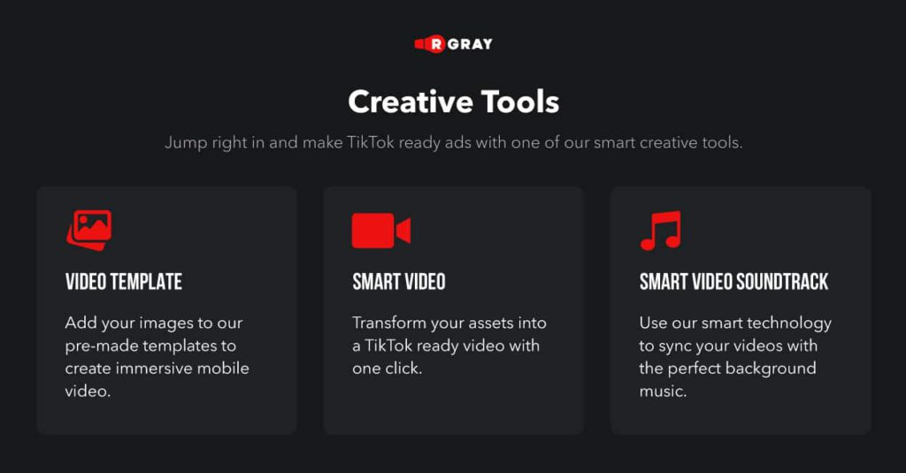 Creative tools for your campaigns