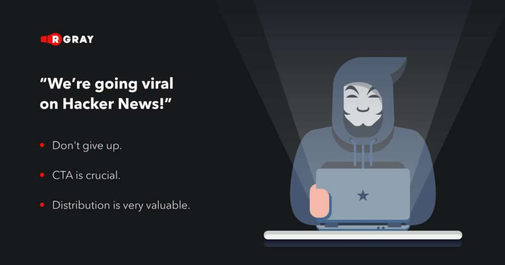 Lessons learned from going viral on Hacker News