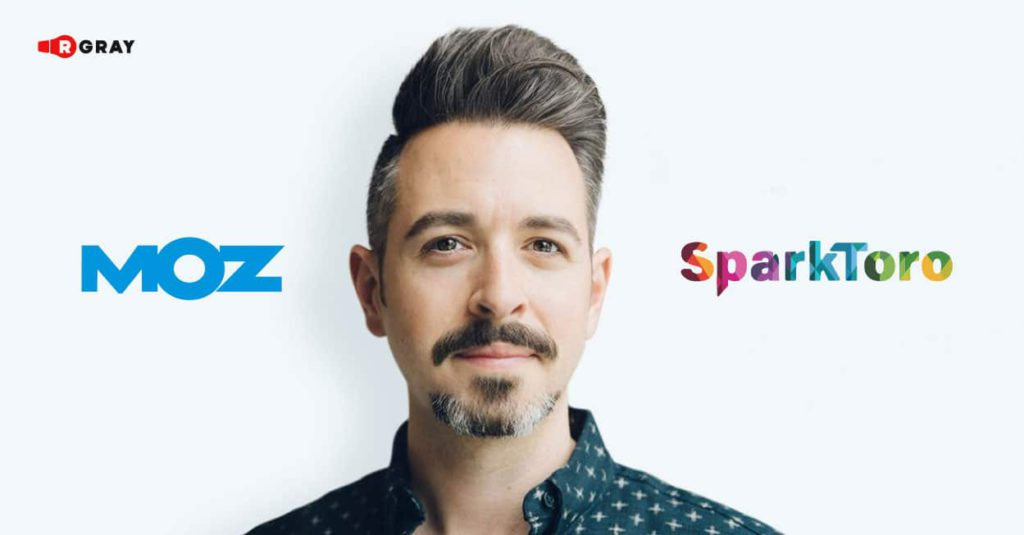 Rand Fishkin, as a co-founder of Moz and SparkToro, has developed a strong social media following