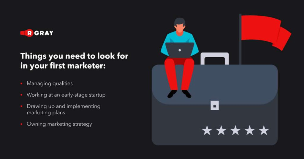 Things to remember when hiring your first marketer