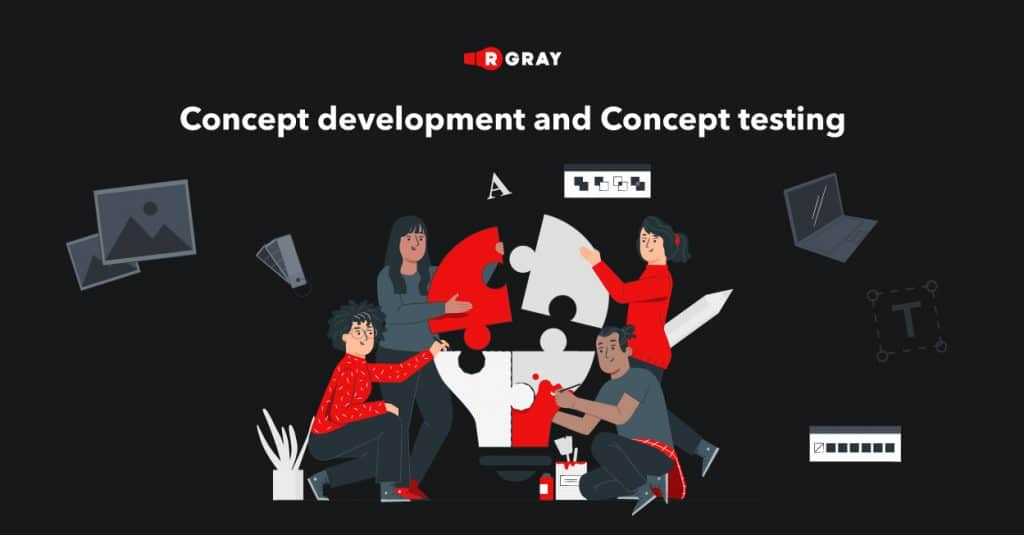 concept development and concept testing