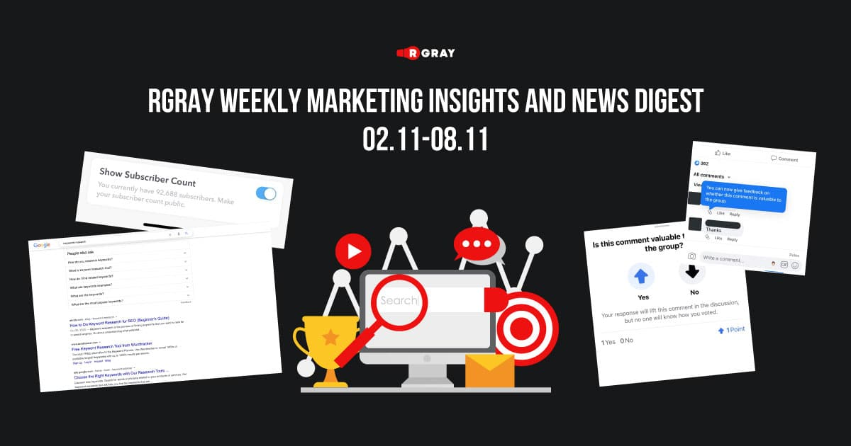 rgray weekly marketing insight and news digest 0211-0811