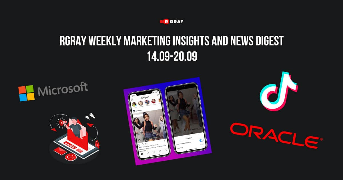 rgray weekly marketing insight and news digest 1409-2009