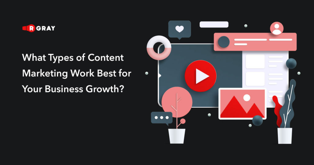 What types of content marketing work best for your business growth?