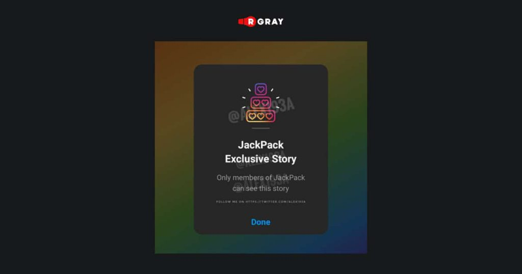 """Instagram confirmed the rumors about the work on the new """"Exclusive Stories"""" feature."""