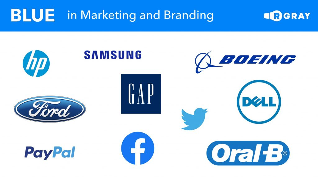 Blue in Marketing and Branding