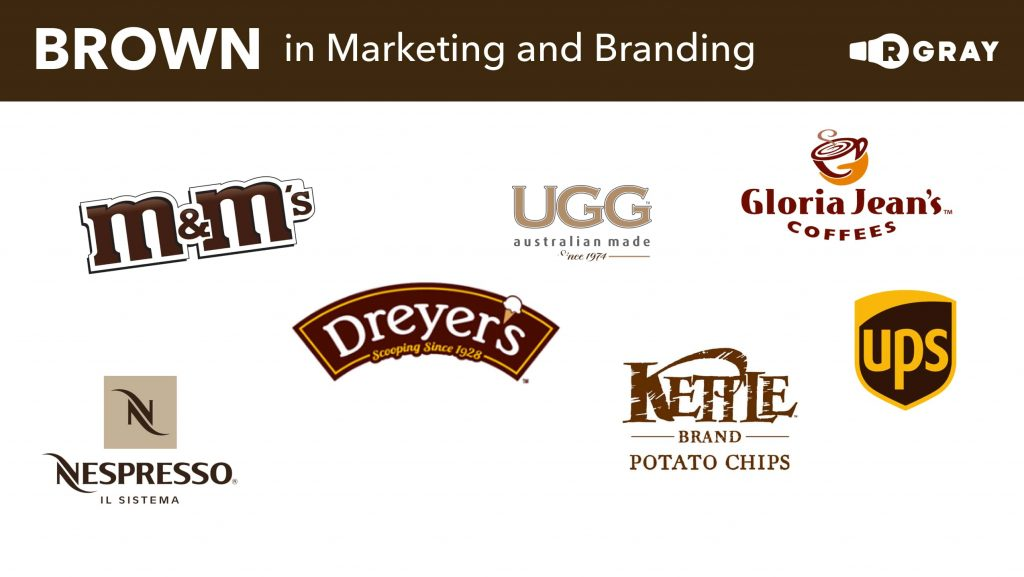 Brown in Marketing and Branding