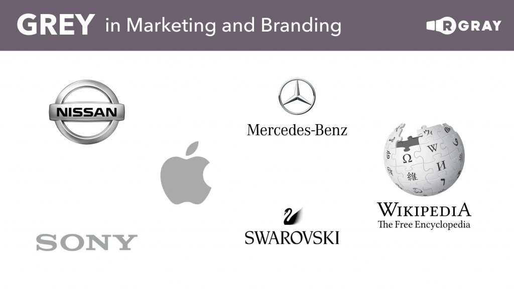Grey in Marketing and Branding