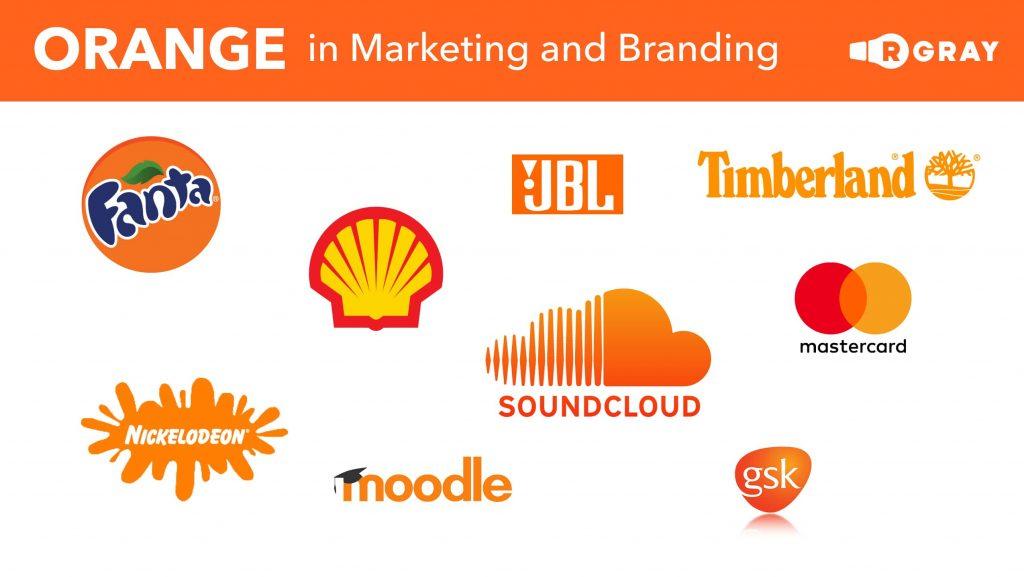 Orange in Marketing and Branding