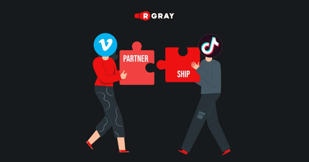 TikTok recently announced a collaboration with Vimeo.